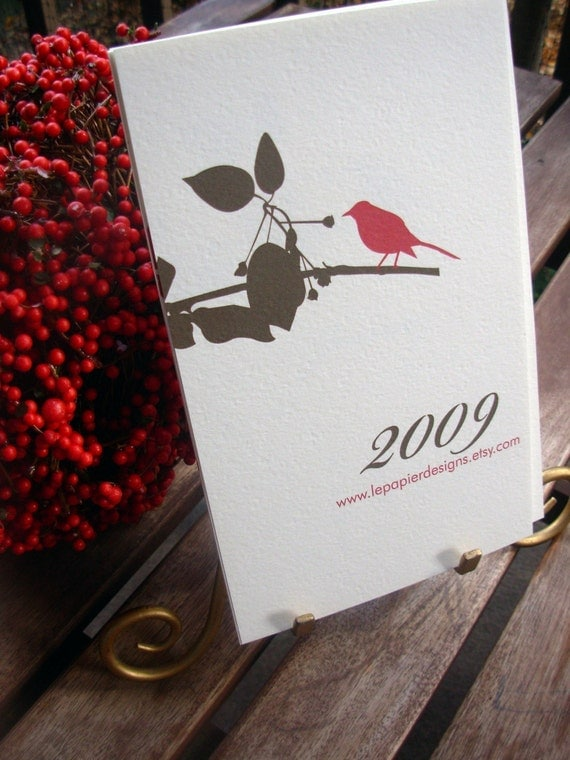 2009 Calendar - Botanical