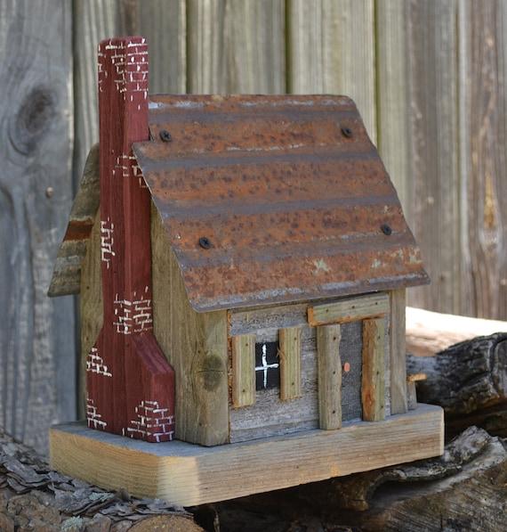 Birdhouse - Ozark Cabin