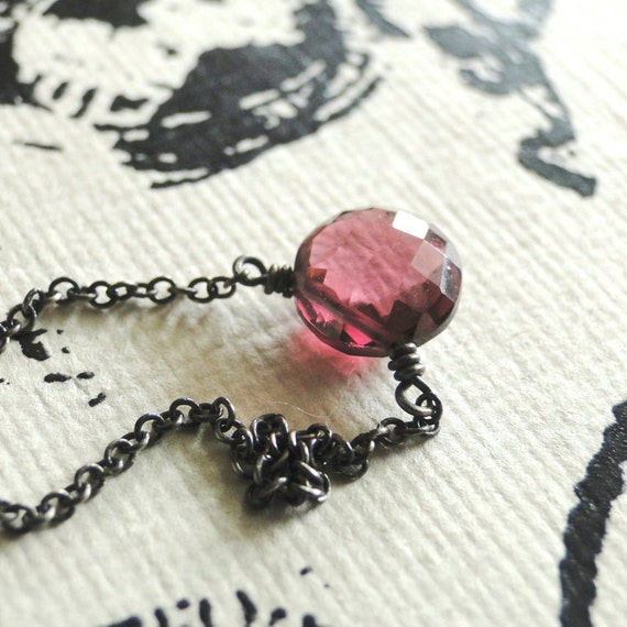 The Sweetest Little Pink Necklace You Ever Did See