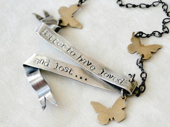 Poetic Banner Necklace