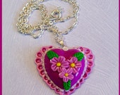Heart Pendant with chain no. 2