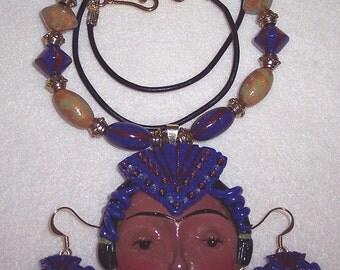 Princess Necklace, Earring Set