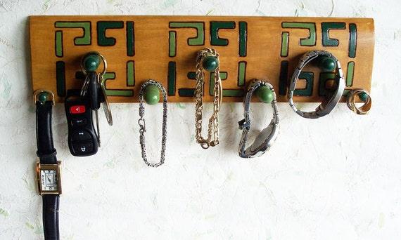 Mans Jewelry Holder Wall Rack