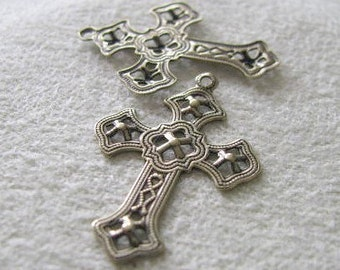 Antique Gold Ox Finish Cross