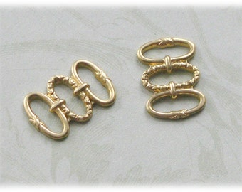 Raw Brass Stampings  3 loop design-10-