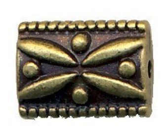Antique Gold Plated Bali Style Beads -25-