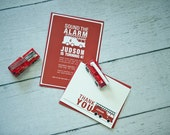 Custom Listing for shillac12 - Sound the Alarm - Fire Engine Birthday Party
