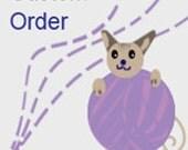 Deposit for Herstory Lap blanket -  Custom Order for LS
