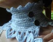 Crochet PATTERN - Lady of the North Neckwarmer Crochet PATTERN in PDF Format