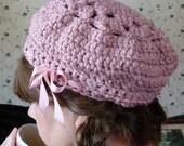 Crochet PATTERN - Londonderry Hat Crochet PATTERN in PDF Format
