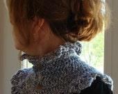 Crochet PATTERN - Romance Neck Warmer Crochet PATTERN in PDF Format