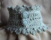 Crochet PATTERN - Trio of Neckwarmer Crochet PATTERNS  in PDF Format