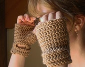 Crochet PATTERN - Classic Driving Gloves Crochet PATTERN in PDF Format