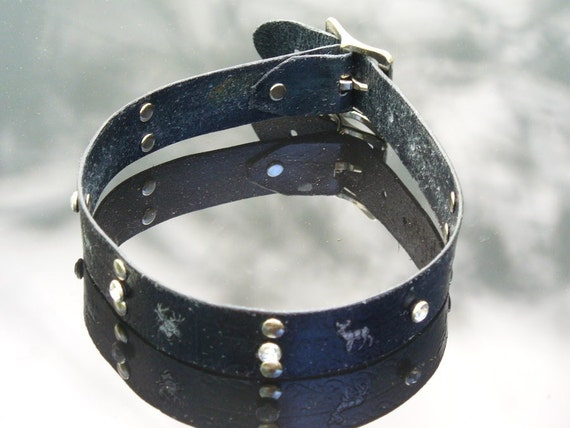 Silver Stag Collar