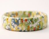 Japanese Paper Wrapped Eco Bracelet - Origami for the Soul