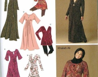 Womens Pattern PLUS SIZES 10-12-14-16-18 Simplicity 2774 Dresses Tops