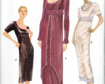 Titanic Rose Swim Dress Jump Sewing Pattern Vogue 9936 Out of Print RARE Item UNCUT Sizes 6-8-10
