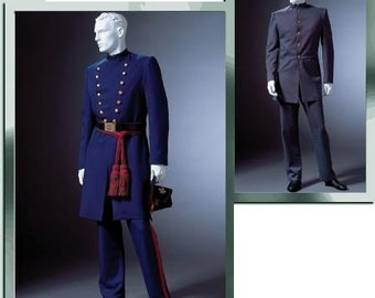 Union Army Soldier Confederate Uniform Civil War Mens Costume McCalls 4745 Sizes XL XXL XXXL