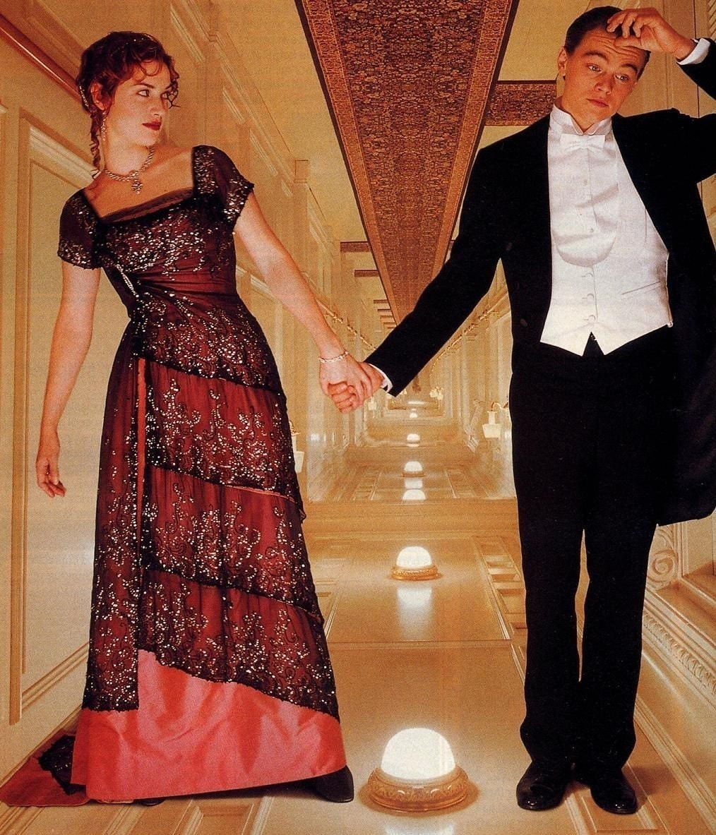 Titanic Dinner Dress Gown Formal McCalls Pattern 9688 Sizes