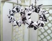 Filigree Wheel Earrings