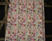 Womans Skirt A-Line Multi Color Print