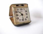Vintage Travel Alarm Clock Linden