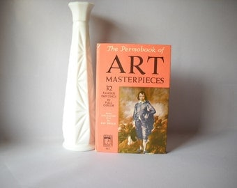Vintage Book Permabook Art Masterpieces Reference Book Art Book Artist Book Paintings