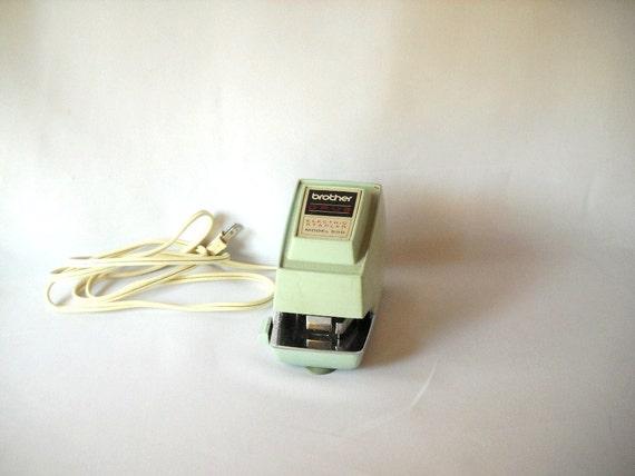RESERVED for Diedre Z Alfaro Vintage Stapler Electric Stapler