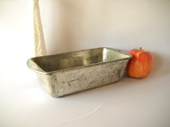 Vintage Loaf Pan Bake King Bread Pan Metal Baking Pan