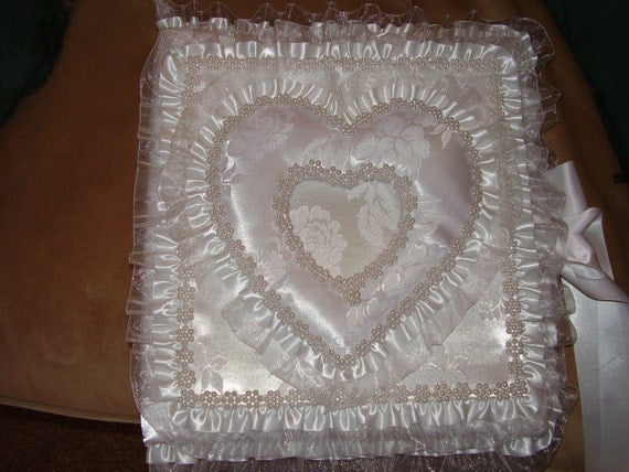 Wedding photo album with heart shaped picture frame binder size 3 ring