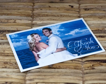 Thank You or Save the Date Postcard - Custom Photo - Deposit and Design Fee
