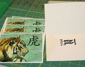 Chinese New Year Cards - 2010 Year of the Tiger