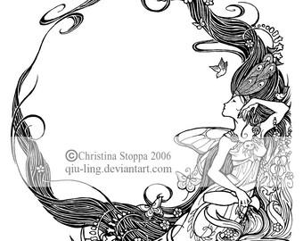 Rebirth - Original Art Print by Christina Stoppa