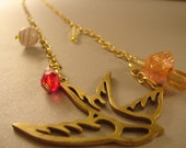 Golden Bird Necklace