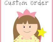 Custom Order for Corina