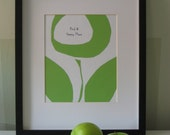 Find A Happy Place  (apple green)