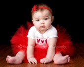 Absolutely Delicious Valentine's Day Tutu Outfit For Baby size 3-9 months YOU CHOOSE Mix N' Match