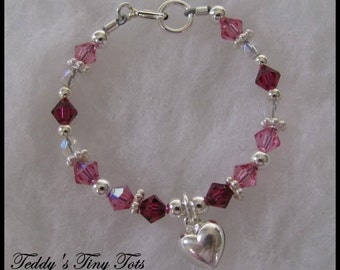 Baby and Children's Boutique Bracelet Tutorial Beading Patterns Instructions Make Your Own