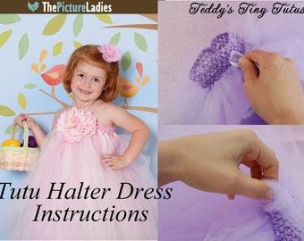 Tutu Dress Tutorial How To Make A Tutu Dress - Tutu Dresses - Tulle Tutu Dress Patterns