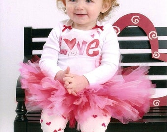 Baby Girl Valentines Outfit Valentines Day Tutu Dress Infant Valentines Outfit 9 12 18 Months
