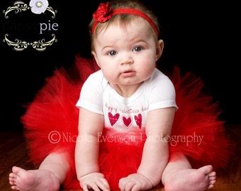 Newborn Valentines Outfit Valentines Day Tutu Dress Baby Valentine Outfit 3 6 Month