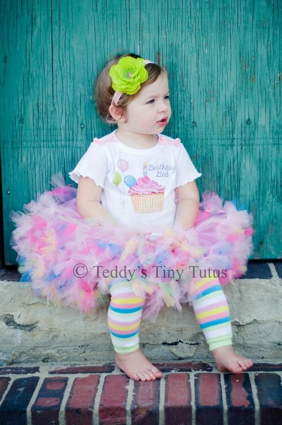 1st Birthday Tutu Set Toddler Birthday Girl Outfits Birthday Petti Tutu Outfit 9 12 18 Months