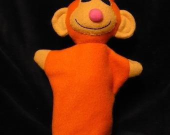 Fleece Monkey Hand Puppet