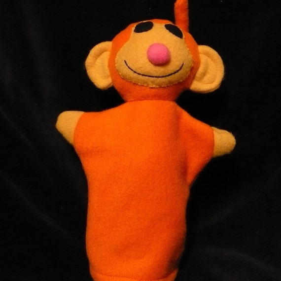 Fleece Monkey Puppet