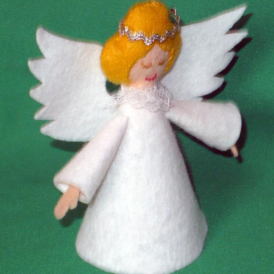 Small Angel Christmas Tree Topper