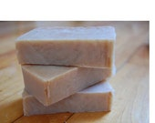 Handmade Certified Organic Brown Swiss Cow's Milk Cold Process Soap