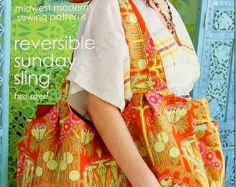 Amy Butler Reversible Sunday Sling Sewing Pattern