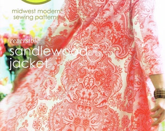 Amy Butler Sandlewood Jacket Sewing Pattern - ON SALE