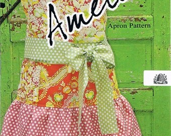 Amelie Apron Sewing Pattern ON SALE