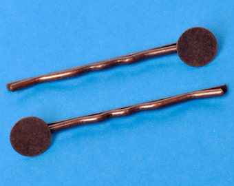Antique Copper Bobby Pins (20) ON SALE